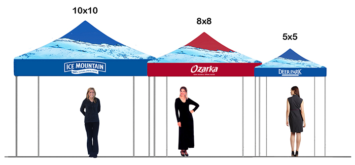 Promotional P.O.S. Tents