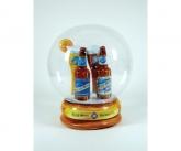 Blue Moon Inflatable Snow Globe