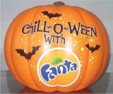 Fanta Pumpkin Inflatable