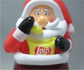 Lays Santa Chimney Inflatable