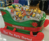 Nabisco Sleigh In-store Inflatable