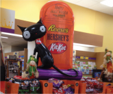 Reeses Halloween Cat Inflatable