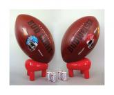 Budweiser Inflatable Football And Tee