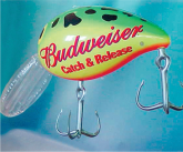 Budweiser Inflatable Fishing Lure