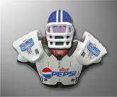 Diet Pepsi Inflatable Football Dummy