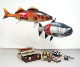 Miller High Life Inflatable Fishing