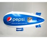 Pepsi inflatable blimp