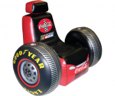 Coca cola racing chair POS inflatable