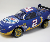 Miller lite inflatable POS stock car