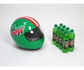 Mountian dew inflatable POS racing helmet