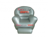 Coors light inflatable POS chair