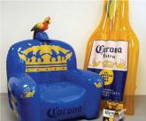 Corona inflatable POS chair and raft