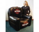 Harley davidson inflatable POS chair