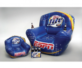 Miller lite inflatable POS chair