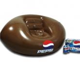 Pepsi football inflatable POS chair