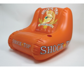 Shock top bw inflatable POS chair