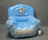 Warsteiner inflatable POS chair
