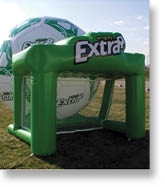 Custom inflatable games