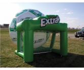 Extra inflatable soccer game