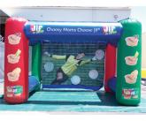 Jif soccer inflatable game