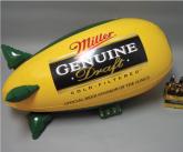 Miller genuine draft POS Hanging Inflatable Blimp