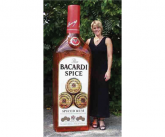 Bacardi Giant inflatable