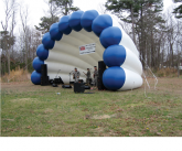 Band shell Giant inflatable