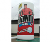 Brawny Giant inflatable