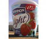 Dannon light Giant inflatable