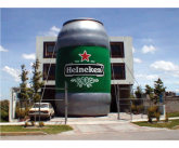 Heineken Giant inflatable