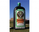 Jagermeister Giant inflatable