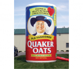 Quaker Giant inflatable