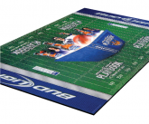 Custom POS Football Themed Floor mat