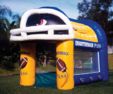 Football inflatable game