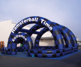 Hamsterball inflatable game