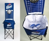 Labatt blue cooler game