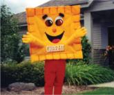 Cheez-It Custom Costume