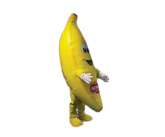 Del Monte Inflatable Costume