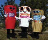 Dunkin Doughnuts Costume
