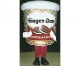 Haagen dazs Inflatable costume