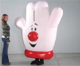 Hamburger Helper Inflatable Costume