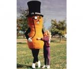 Large mr peanut costume
