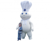 Pillsbury Doughboy Inflatable Costume