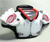 Easy-Inflate™ Shoulder Pads display enhancer