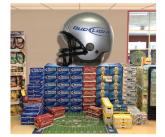 Easy-Inflate™ Helmet Display Enhancer