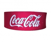 Coca cola hanging polyester display