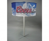 Coors light polyester display enhancer