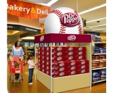 Dr. pepper Tent With Inflatable Baseball Topper