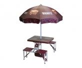 Hersheys pos umbrella and table display