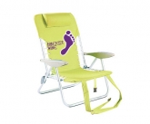 Custom Folding POS Beach / tailgating Chairs